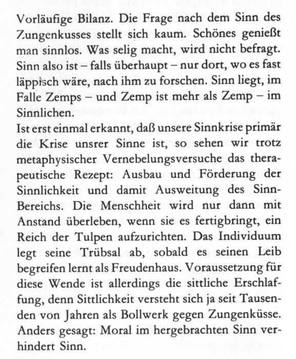 """aus: Markus Werner - """"Froschnacht"""", (c) 1985 Residenz Verlag, Salzburg/Wien"""