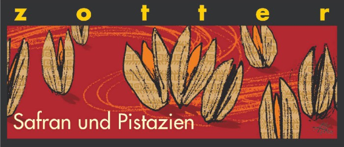 Zotter Safran und Pistazien