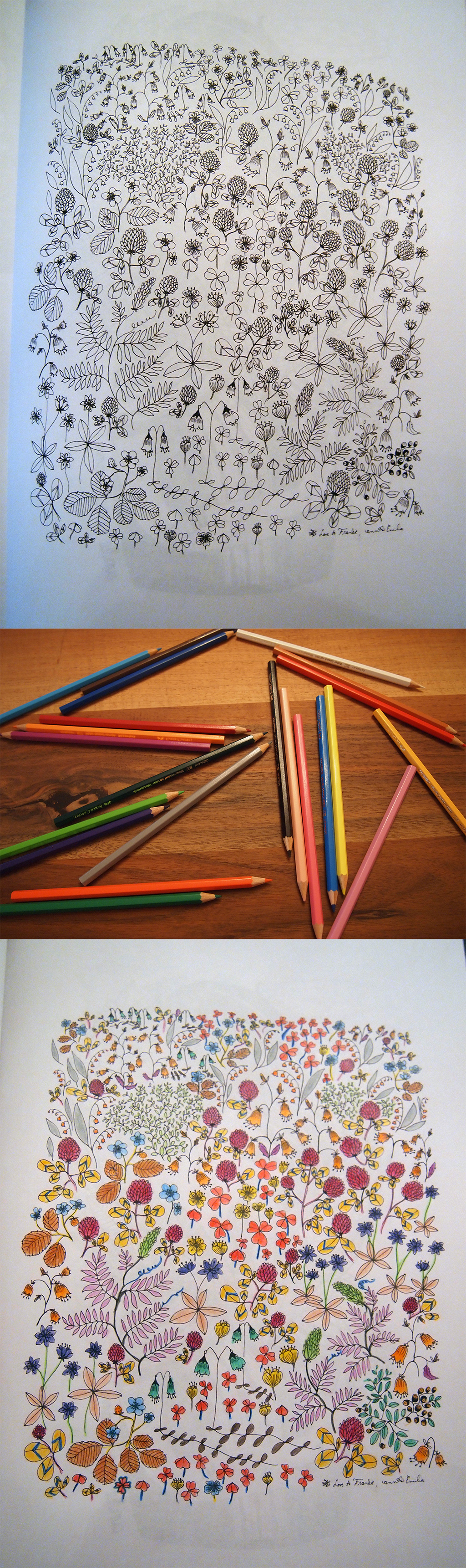 Kids' activities reloaded: crayoning! Fun!