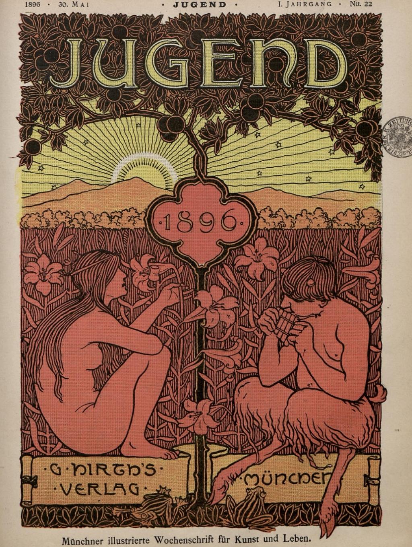 """Zeitschrift """"Jugend"""" 1896"""