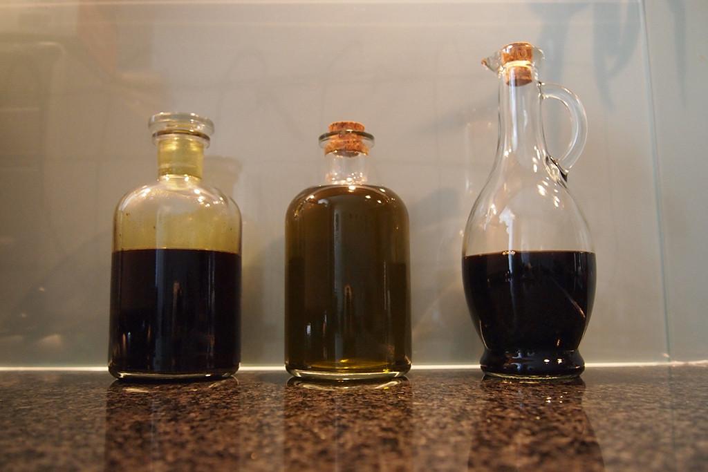 Dreierlei Saft braucht's in der Küche.