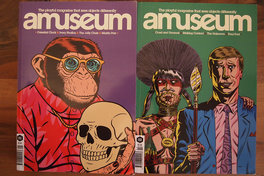 It's not a magazine. It's amuseum.