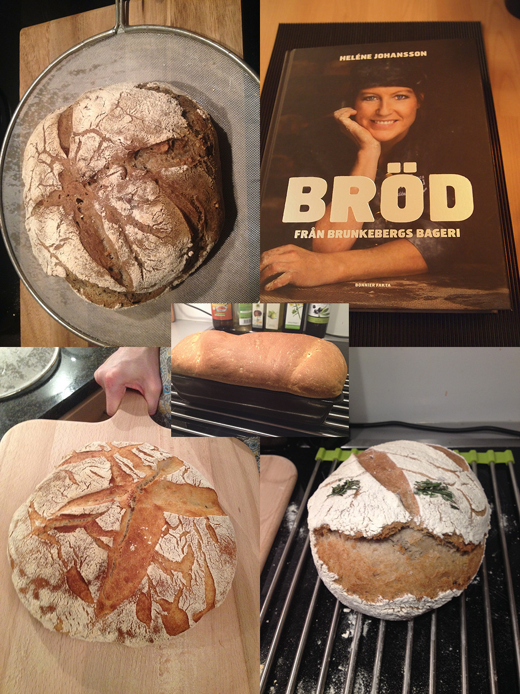 Thanks to Björn and Helene Johansson (not related) fabulously fluffy (inside) and crispy (outside) bread creations succeed!